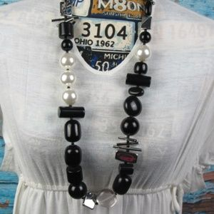 Chico's Large Bead Necklace